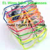 Leuchtfreie Objektiv-Neonsonnenbrillen
