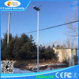 Luz de rua solar Integrated para a lâmpada do diodo emissor de luz 40W com bateria de Li