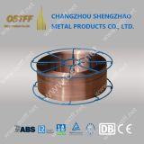 0.045inch Er70s-6 kupferner überzogener Kohlenstoffstahl MIG-Schweißens-Draht den Spulen in des Stahl-15kg