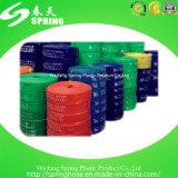 Boyau coloré de l'eau de débit de la distribution de l'eau de PVC Layflat