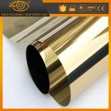 Film solaire de contrôle d'or de 2 plis de construction de teinte solaire r3fléchissante de guichet