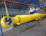 Cilindro hidráulico de equipamento de levantamento de China para o soldador