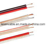 Transparentes Lautsprecher-Kabel für Audioeinheit/Lautsprecher/elektrisches Gerät, CER bestätigt