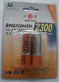Батарея NiMH, перезаряжаемые батарея (AA, 2300mAh)