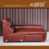 Echtes Leder-Wagen-Leder-Sofaelektrisches Recliner-Sofa (626#)