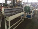 Pipe de tissu-renforcé de PVC faisant la ligne de machine d'extrusion