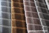 Tissus de capitonnage carrés de textile de maison de polyester de velours
