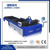 Máquina de estaca do laser da fibra do metal da plataforma da canela para a venda