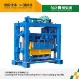 Einfache manuelle Maschine des Block-Qt40-2 für die Herstellung des hohlen Blockes/des Vollziegels