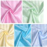 venda por atacado impermeável da cortina de chuveiro da listra 100%Polyester (DPF061130)