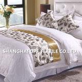 100%년 폴리에스테에 의하여 주문을 받아서 만들어지는 호텔 침대 스카프/침대 주자 (DPF2670)