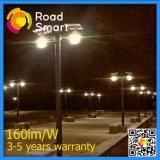lampada di via solare esterna del giardino LED di 8W LED per il cortile