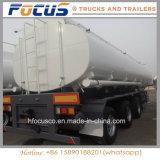 De aangepaste Aanhangwagen van de Vrachtwagen van de Tanker van 3 Assen voor het Bitumen van het Asfalt