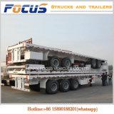 40FT Semi Aanhangwagen van de Vrachtwagen van de Container van de tri-as Flatbed