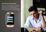 Teléfono elegante androide del reloj del IOS Bluetooth con la cámara de SIM