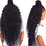 Nueva el 100% peluca del cordón del pelo humano de la Virgen del brasilen@o del precio al por mayor