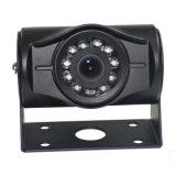 スクールバスのバックアップカメラの背面図の耐候性がある夜間視界