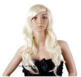 Nova moda Cosplay rosa Fluffy peruca