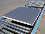El panel de emparedado aislado PU cubierto color del acero