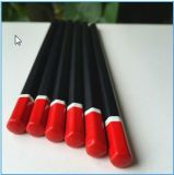 Lápis padrão personalizado do HB de madeira de 7 polegadas com pontas superiores