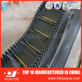 90 degrés Corrugated Sidewall Conveyor Belt (polyester/ep)