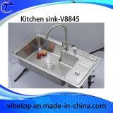 Évier double en laiton multifonction Double Bowl Kh-065