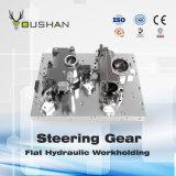 Dispositivo elétrico hidráulico de Workholding da engrenagem de direção com centro de Mahcining do calibre de lâminas