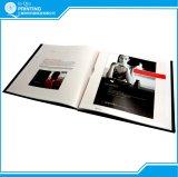 Impressão do catálogo do emperramento do Hardcover da cor cheia