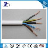 Изолированный PVC провод чуть-чуть медного проводника кабеля электрический