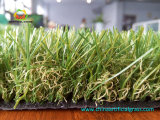Grande grama ajardinando artificial barata da fábrica
