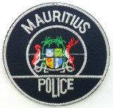 Kundenspezifische Tuch-Stickerei-Polizei-Abzeichen