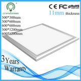 luz de painel Recessed do diodo emissor de luz 19W teto quadrado
