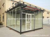 Casa de protector prefabricada del bajo costo/prefabricada móvil