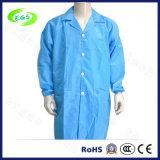 Vêtements antistatiques de DÉCHARGE ÉLECTROSTATIQUE bleue de polyester (EGS-20)