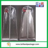 Sacchi di indumento trasparenti all'ingrosso del vestito da cerimonia nuziale