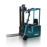 Suelo Used 1 T Forklift eléctrico Truck