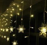2X3m Outdoor Decoration PVC Wire Holiday LED Christmas Colorful Curtain Light