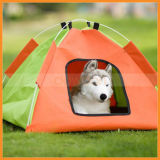 Крытая напольная дом шатра лагеря кота собаки любимчика ткани Оксфорд воды упорная складная