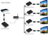 Großhandels-HDMI Ergänzung über einzelnem Cat5 Ca6 100m (HDMI über IP)