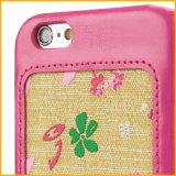 iPhone 6 аргументы за бумажника мобильного телефона PU нового способа роскошное кожаный