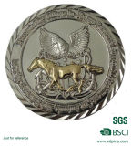 주문 고대 은 둥근 기념품 동전