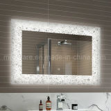 Espelho leve iluminado barato direto do banheiro do diodo emissor de luz da tela de toque da fábrica