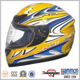 涼しい入れ墨(FL105)が付いている太字のオートバイの/Motorbike /Crossのヘルメット