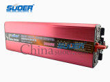 Suoer CC a CA Solar Power Inverter 3000W de potencia del inversor 24V 220V Plaza Sine Wave Power Inverter (HAA-3000B)