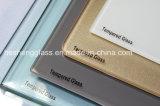 vidro Tempered endurecido de 2mm impressão dourada