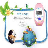 Sosボタンが付いている子供のスマートな腕時計を追跡するGelbert GPS