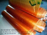 Tissu de fibres de verre verni par polyester