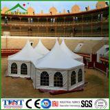 Tente 5mx5m extérieure hexagonale de pagoda d'usager de jardin d'écran