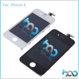 iPhone 4 4sスクリーンの置換の黒のためのデッドピクセル携帯電話無しLCD