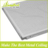 Tuiles acoustiques en aluminium du plafond 600*600